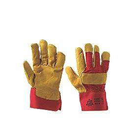 Mechanical Hazard Ultimate Rigger Gloves Red / Yellow Large