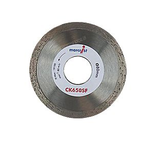 Marcrist CK650SF Diamond Tile Blade 80 x 22.2mm