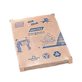 Mottez Standard Moving Box 96Ltr 600 x 400 x 400mm Pack of 5