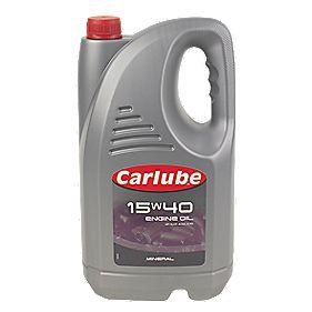 Carlube 15W/40 Mineral Oil 4.55Ltr