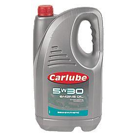 Carlube 5W/30 Semi-Synthetic Oil 4.55Ltr