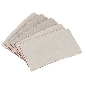 Hand Sanding Grip Sheets 70 x 125mm 240 Grit Pack of 50
