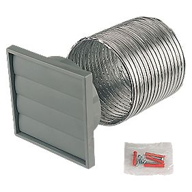 Manrose 1280 W Extractor Fan Wall Fixing Kit 150mm