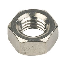 Hex Nuts A2 Stainless Steel M8 Pack of 100
