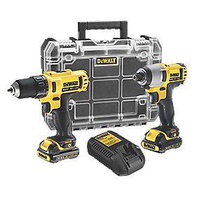 DeWalt DCK211C2T 10.8V 1.3Ah Li-Ion XR Cordless Drill Driver/Impact Driver