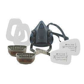3M 7523 Half Mask Respirator & Filter Kit Medium P3