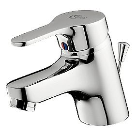 Ideal Standard Alto Mono Mixer Bathroom Tap & Pop-Up Waste