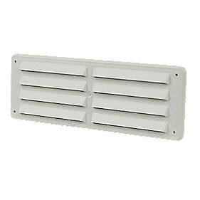 Manrose Fixed Vent White 229mm x 76mm