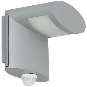 Ranex 3W Grey Preben Wall Light with PIR Sensor