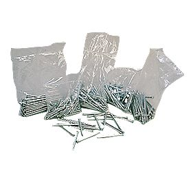 Masonry Nails Set Galvanised 400 Piece Set