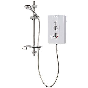 Bristan Joy Thermostatic Electric Shower White 9.5kW