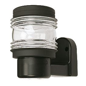 Outdoor Marine Wall Lantern Black 60W 205mm
