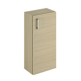Bathroom Base Unit 1-Shelf Oak Slab 300mm