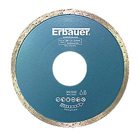 Erbauer Diamond Tile Blade 80 x 1.9 x 22.23mm