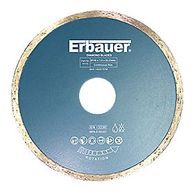 Erbauer Diamond Tile Blade 105 x 1.9 x 22.23mm
