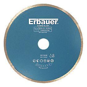 Erbauer Diamond Tile Blade 180 x 2.0 x 22.23mm