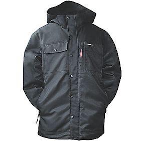CAT C1313056 Insulated Twill Jacket Black XL