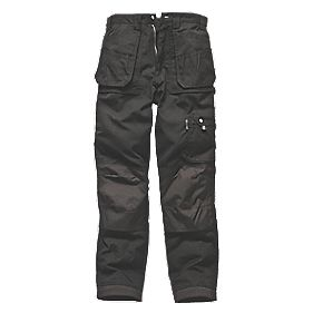 "Dickies Eisenhower Trousers Black 40"" W 32"" L"