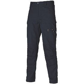 "Dickies Eisenhower Trousers Navy 40"" W 32"" L"