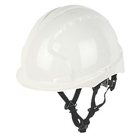 JSP EVO 3 Linesman Safety Helmet White
