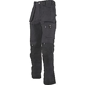 "Dickies Eisenhower Trousers Black 36"" W 32"" L"