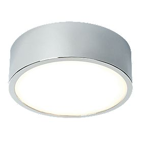 LAP Harrier LED Ceiling Light White & Chrome 20 x 0.5W