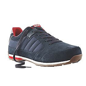 Site Strata Safety Trainers Navy Size 7
