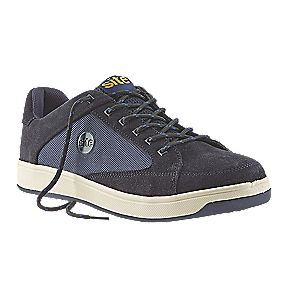 Site Sapphire Safety Trainers Navy Size 7