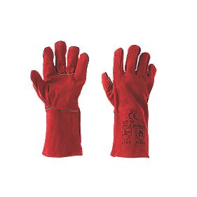 Keepsafe Welders Gauntlets Red Large