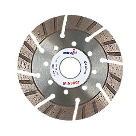 Marcrist Mi650SF Segmented Diamond Blade 115 x 22.2mm