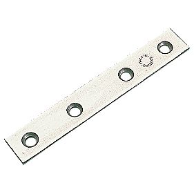 Mending Plates Zinc Plated 100 x 16mm Pack of 10