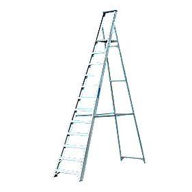 Lyte Platform Steps Aluminium 12 Treads 3.2m