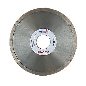 Marcrist CK650SF Diamond Tile Blade 110 x 22.2mm