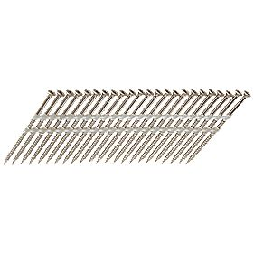 Paslode IM360Ci Galvanised Nail Screws 2.8 x 75mm Pack of 1250 & Fuel Cell