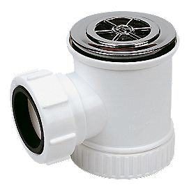 Shower Trap Chrome 40mm