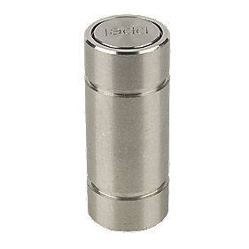 Surface Bolt Socket Large Silver 70mm