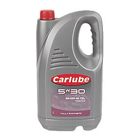 Carlube 5W/30 Fully Synthetic Engine Oil 4.55Ltr