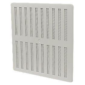 Manrose Adjustable Vent White 229mm x 229mm