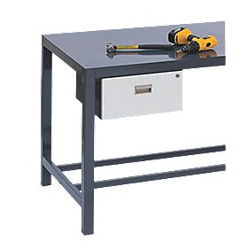 Single Drawer Extra for Heavy Duty Steel Plate Workbench