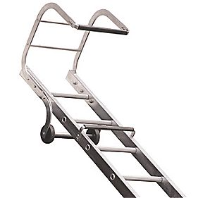 Lyte TRL155 Roof Ladder Closed m Open 5.46m