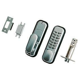 Securefast Mechanical Standard Duty Push Button Lock Tubular Latch