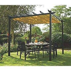 Rowlinson Garden Products Latina Canopy 3 x 3 x 2.35m