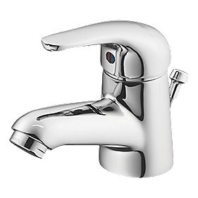 Ideal Standard Opus Basin Mixer Bathroom Tap with Pop-Up Waste