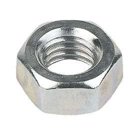 Hex Nuts BZP M8 Pack of 1000