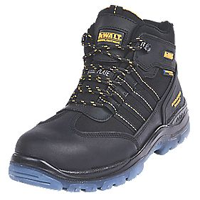 DeWalt Nickel Waterproof Safety Boots Black Size 7