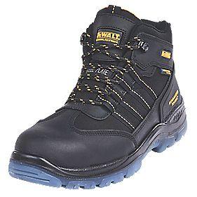 DeWalt Nickel S3WR Waterproof Safety Boot Black Size 7