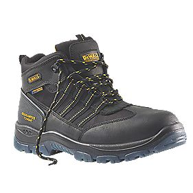 DeWalt Nickel Waterproof Safety Boots Black Size 12