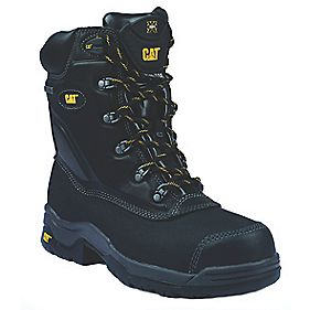 CAT SUPREMECY BLACK SAFETY BOOT SIZE 8