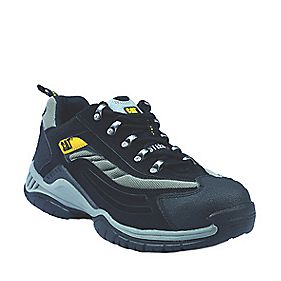 Cat Moor Safety Trainers Black Size 4