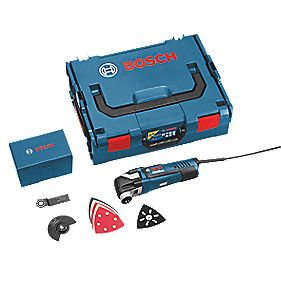 Bosch GOP 300 SCE 300W Multi-Cutter 110V with 8 Accessories